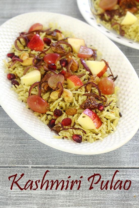 Kashmiri Pulao Recipe How To Make Kashmiri Pulao Recipe
