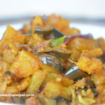 Baigan Aaloo (Eggplant with potatoes)