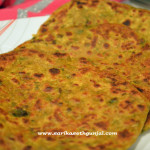 Methi ka Paratha (Fresh Fenugreek Parathas)