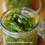 Easy Green Chili Pickle