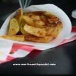Baked Rosemary & Garlic Potato Wedges