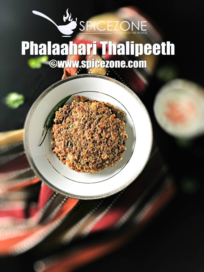 Phalaahari Thalipeeth