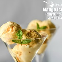 Mango Ice-cream (Only 3 ingredients)