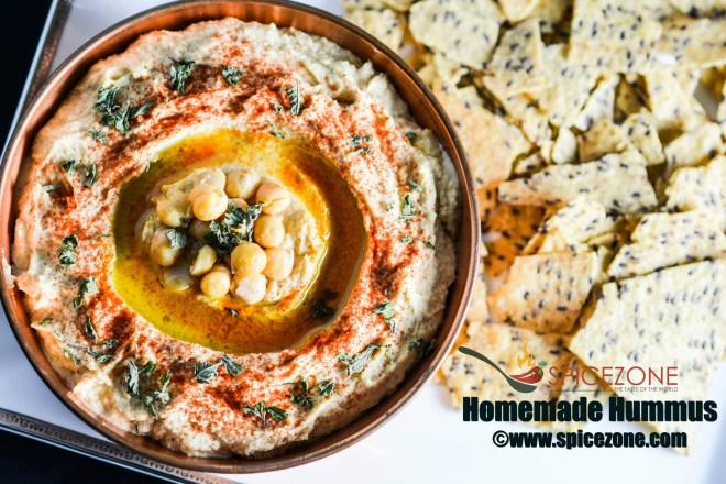 Homemade Hummus