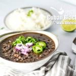 Cuban Black Beans & Rice | Cuban Black Bean Recipe