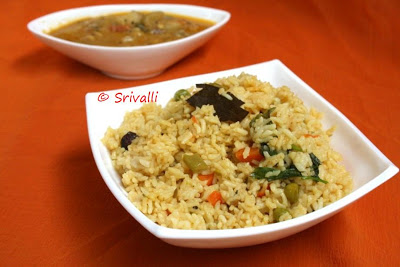 Seeraga Samba Vegetable Biryani