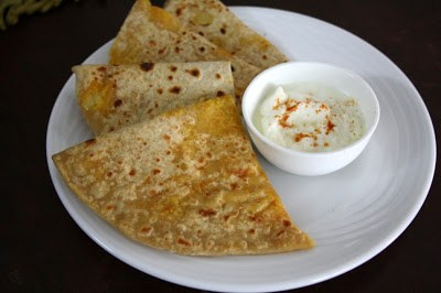 Aloo Cheese Stuffed Paratha