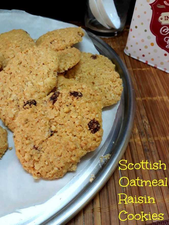 Scottish Oatmeal Cookies