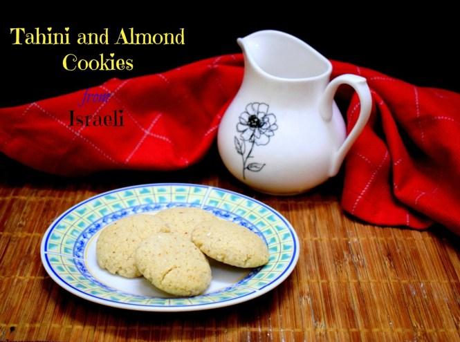 Tahini and Almond Cookies