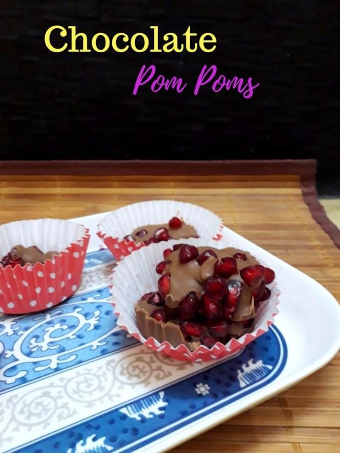 Chocolate Pom Poms