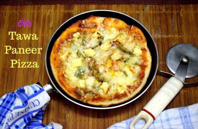 Tawa Paneer Pizza