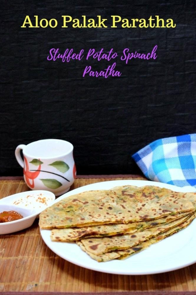 How to make Aloo Palak Paratha