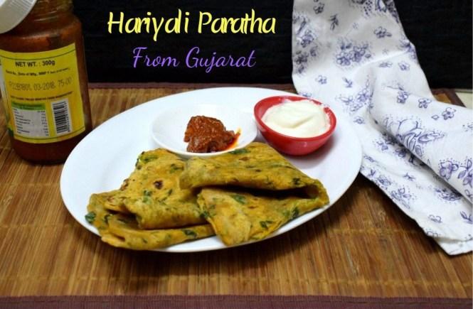 Hariyali Paratha