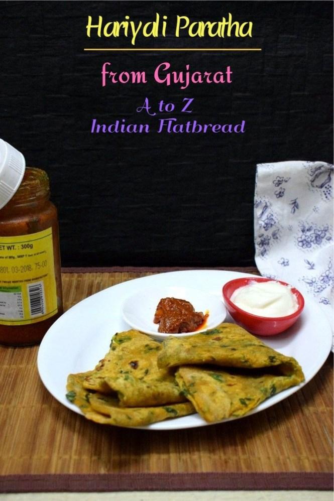 How to make Hariyali Paratha