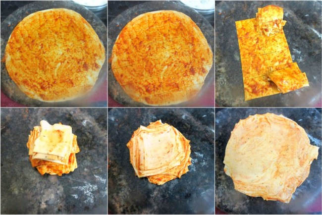 How to make Masala Paratha 2