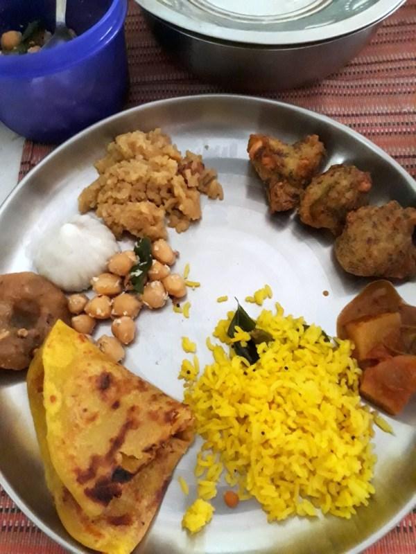 Broccoli Bonda - Indian Thali