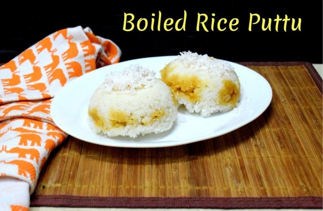 Boiled Rice Puttu