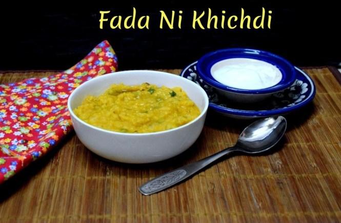 Fada Ni Khichdi