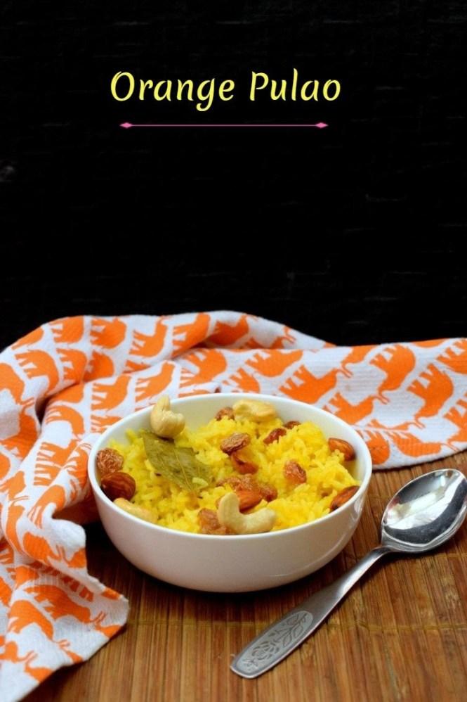 How to make Orange Pulao