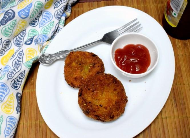 Moong Potato Cutlet
