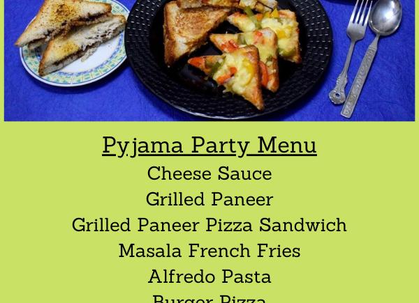Pyjama Party Platter