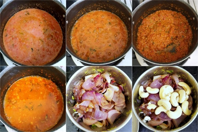 How to make Paneer Butter Masala 2