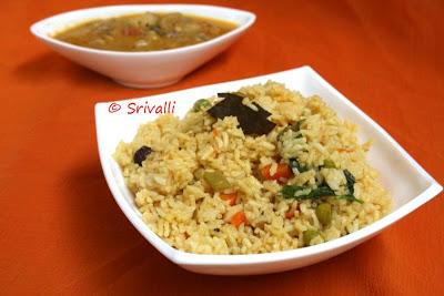Seeraga Samba Vegetable Biryani