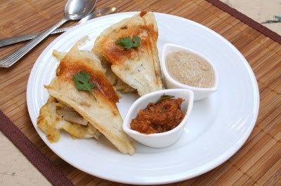 Grilled Idli Sandwich
