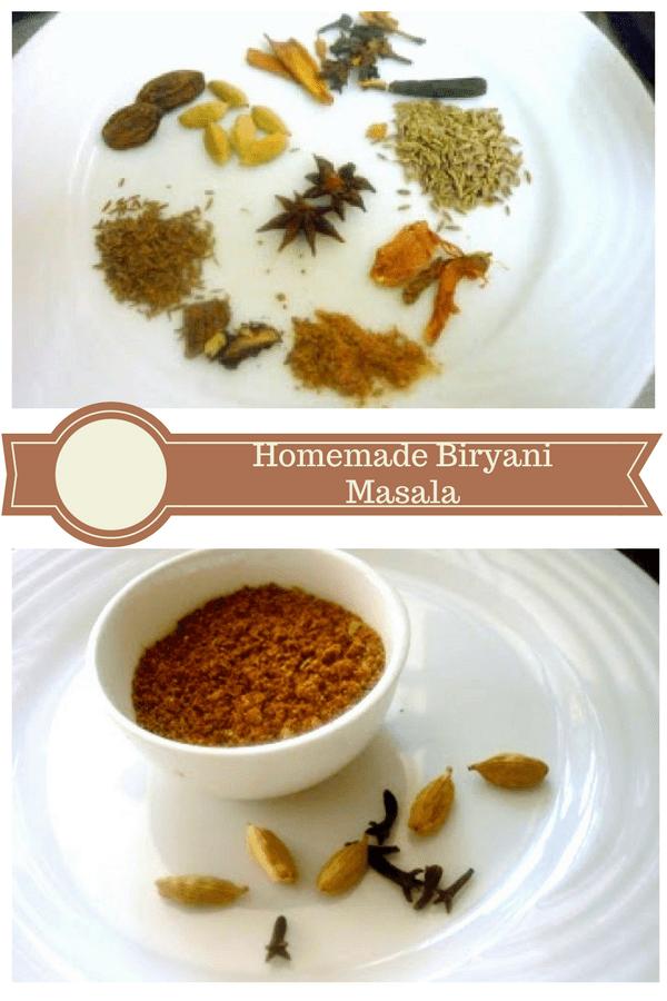 Homemade Biryani Masala