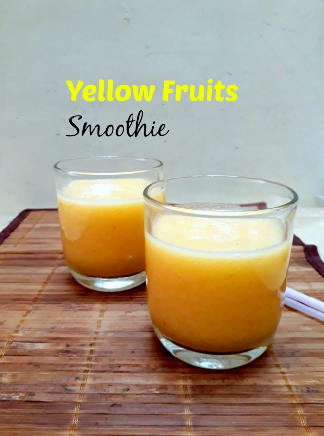 Yellow Fruits Smoothie