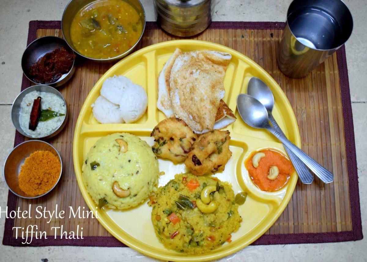 Tamil Nadu Hotel Style Mini Tiffin Thali