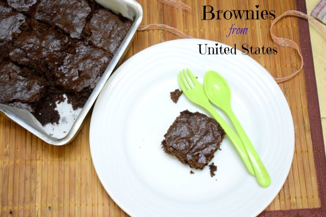 Brownies from United States
