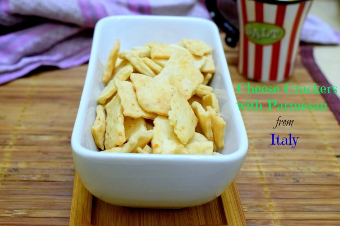Cheese Crackers with Parmesan