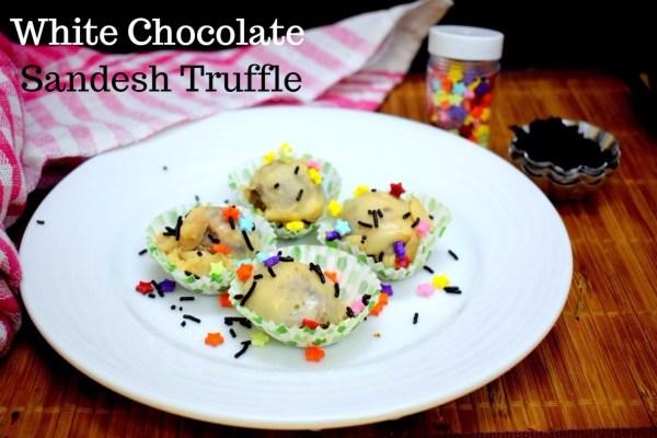 White Chocolate Sandesh Truffle