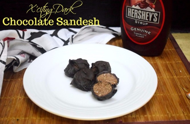 Xciting Dark Chocolate Sandesh