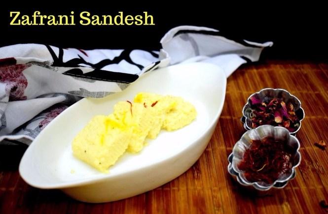 Zafrani Sandesh