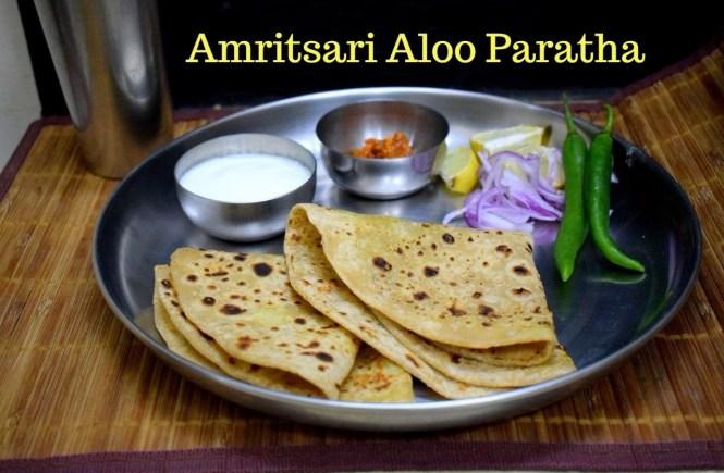 Amritsari Aloo Paratha