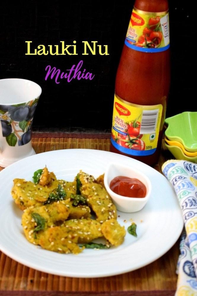 How to make Lauki Nu Muthia
