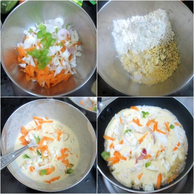 How to make Okonomiyaki 1