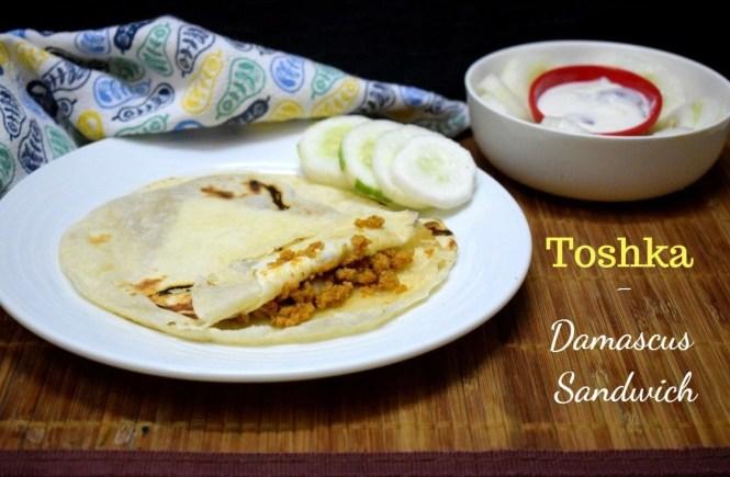Toshka - Damascus Sandwich