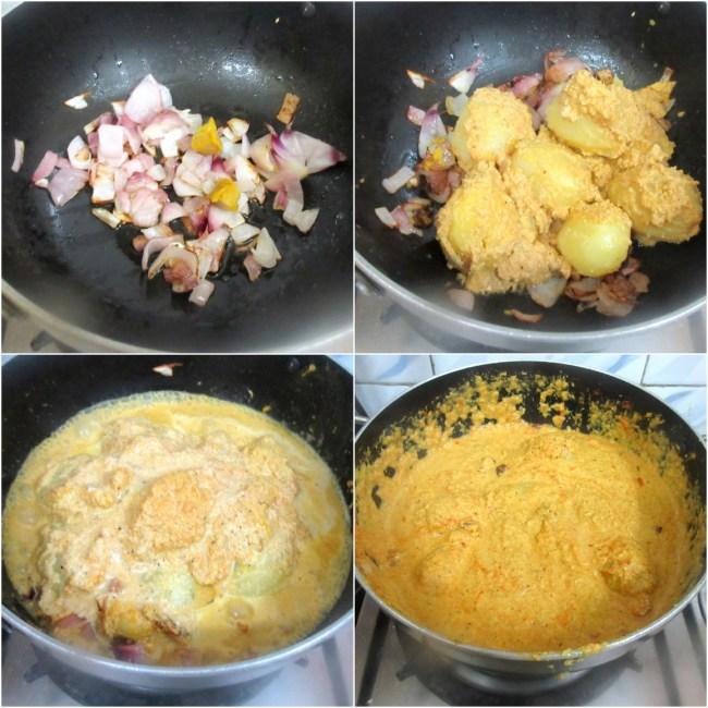 How to make Bharli Batate 2