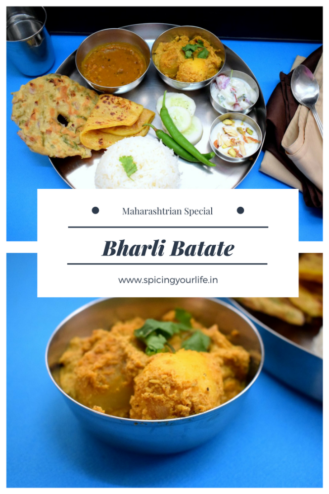 How to make Bharli Batate