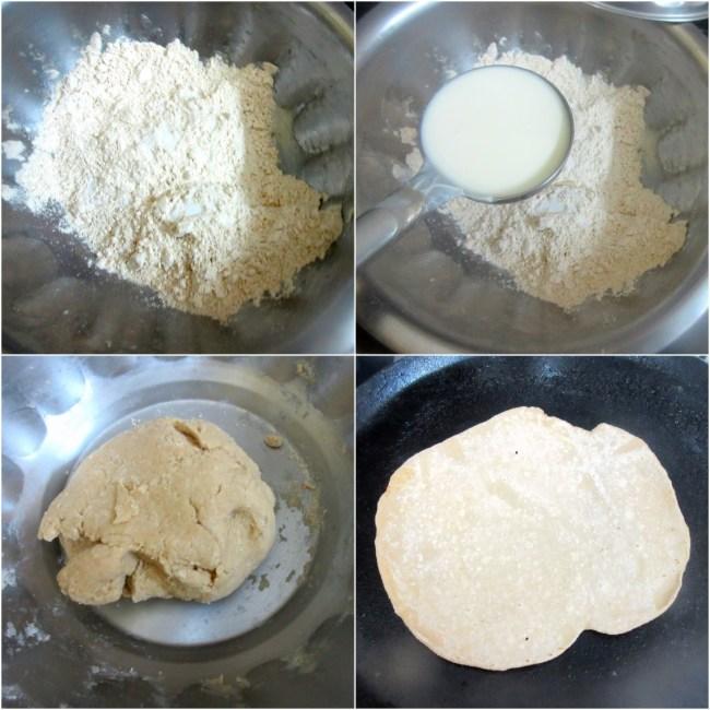 How to make Roghni Roti 1