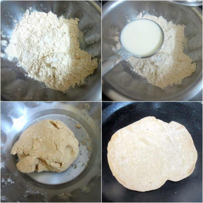 How to make Roghni Roti 1