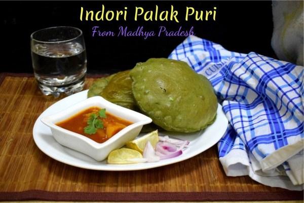 Indori Palak Puri