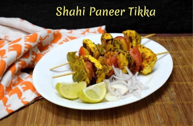 Shahi Paneer Tikka