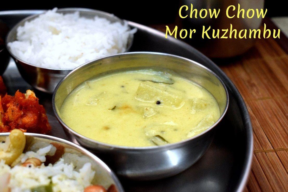 Chow Chow Mor Kuzhambu   How to make Mor Kulambu