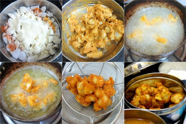 How to make Arbi Deep Fry 2