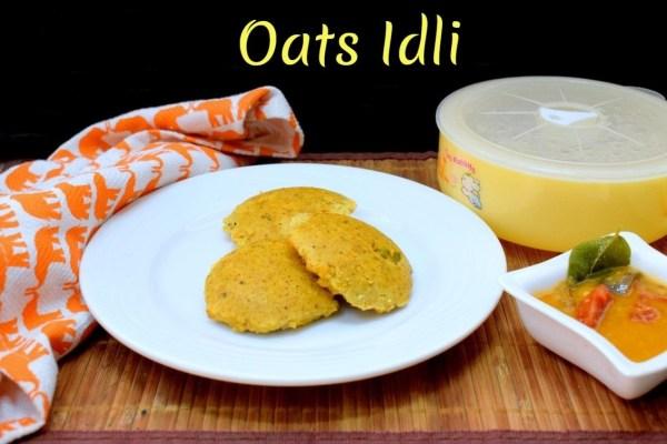 Oats Idli