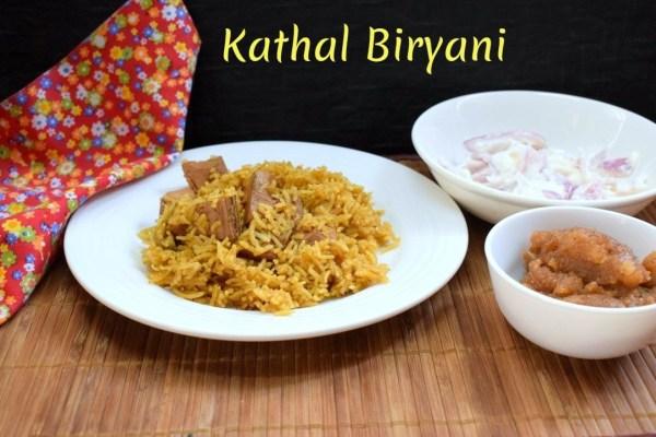 Kathal Biryani